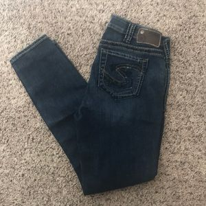 NWOT Silver Suki Jegging 30x29 for sale